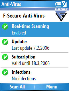 F-secure anti-theft for mobile antifurto windows phone symbian