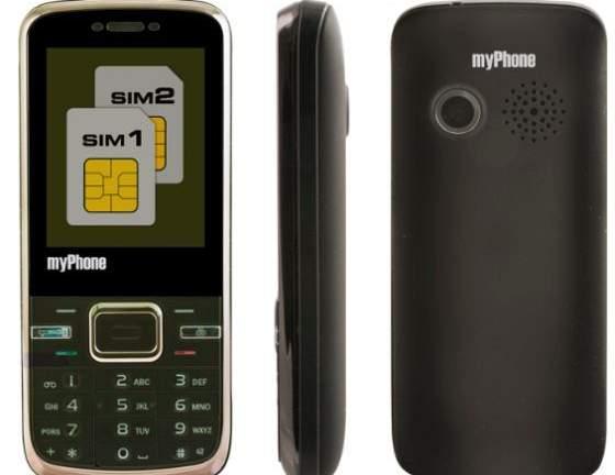 myPhone 3380 Midnight