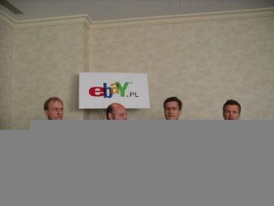 Przedstawiciele eBay obecni na konferencji