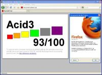 Test Mozilla Firefox 3.5 Final w Acid3