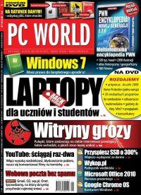 Kupiłeś laptop z Vistą? Możesz zrobić upgrade do Windows 7! Ponad 300 uprawnionych modeli na liście: PC World 9/2009