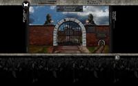 Główna brama prowadzi na cmentarz komunalny lub na cmentarz zwierząt.