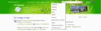 Wszystkie funkcje wchodzące w skład usługi Windows Live są dostępne z głównego menu