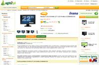 Wzorowy przykład podstrony produktu w sklepie Agito.pl. Jest tutaj wszystko: obszerny opis, opinie klientów, polecane produkty i galeria zdjęć.