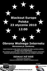 Plakat manifestacji