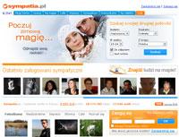 Sympatia.pl wyróżnia się na tle innych ciekawymi pomysłami, dostępnymi funkcjami i ogromną społecznością użytkowników.