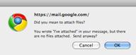 Gmail przypomni o załączniku...