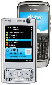 Skype na Nokii N95