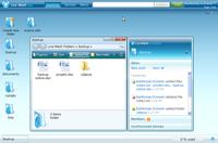 LiveMesh imituje pulpit użytkownika umożliwiając łatwe zarządzanie plikami.