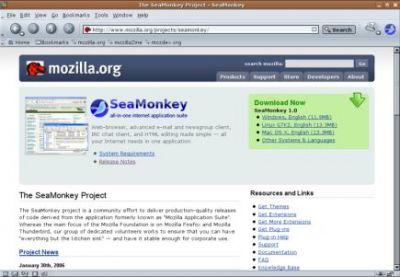 Pakiet SeaMonkey, czyli stary, dobry Mozilla Suite