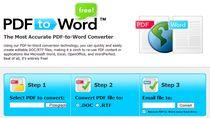 Konwersja PDF do DOC w trzech szybkich krokach.
