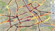 Warszawa, 16:50, 29.XI - miasto sparaliżowane opadami śniegu