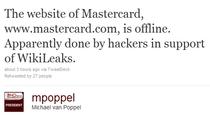 Mastercard potwierdza, że strona nie działa z powodu ataków typu DDoS.