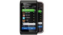 Nokia N8 na pierwszym planie