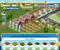 Tak, w CityVille też musimy prowadzić choćby małą farmę