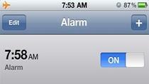 iPhone budzik zaspał po Sylwestrze
