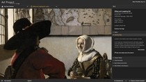 Żołnierz i śmiejąca się dziewczyna, Jan Vermeer (The Frick Collection, New York)