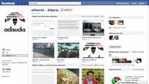 adisucks na Facebooku - ponad 20 tysięcy