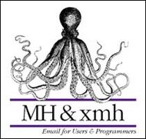 Okładka 'MH & xmh: Email for Users & Programmers' Jerry'ego Peeka - pierwszej książki, która oficjalnie ukazała się w sieci.