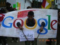 14 lutego br., Indie, protesty przeciwko polityce Google w Chinach, źródło: Noluv4google.com