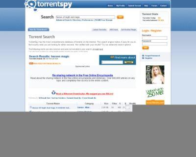 Serwis Torrentspy