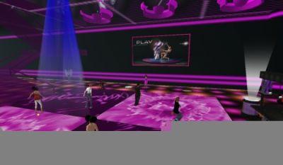 Klub muzyczny PLAY w Second Life