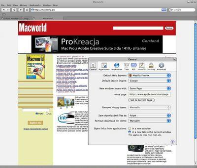 Interfejs Safari żywcem przeniesiony z MacOS X