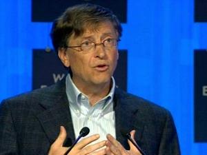 Bill Gates na Forum Ekonomicznym w Davos, styczeń 2008 r. (c) IDG NS