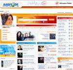 Pierwsza wersja betainternetowego sklepu muzycznego Wirtualnej Polski