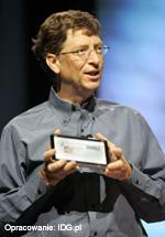 Bill Gates podczas prezentacji na konferencji WinHEC 2005