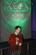 Elijah Wood prowadzi prezentację konsoli Xbox 360