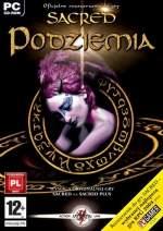 Okładka polskiego wydania gry Sacred: Podziemia