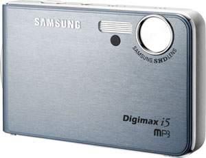 Samsung Digimax i50 MP3 - aparat cyfrowy i odtwarzacz muzyczny w jednym