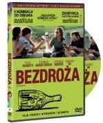 """""""Bezdroża"""" - okładka polskiego wydania DVD."""
