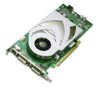 Karty z procesorami GeForce 7800 GT mają bardzo zbliżoną budowę do wersji GTX