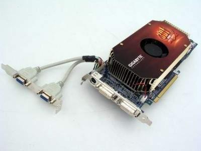 Karta gigant - 2xGeForce 6800 GT i 4 wyjścia monitorowe