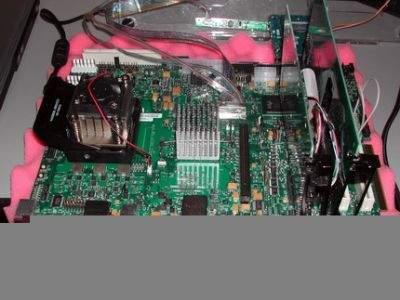 Inżynieryjna platforma sprzętowa z procesorem Yonah, chipsetem i945X - inaczej mówiąc platforma Napa