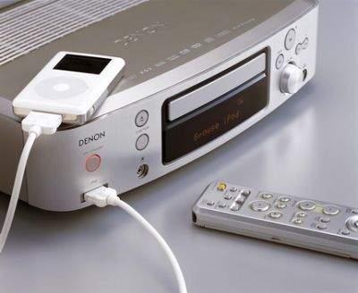 iPod wygodnie obsługiwany z menu Denona