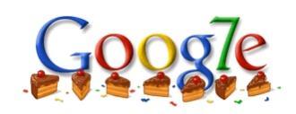 Urodzinowe logo Google