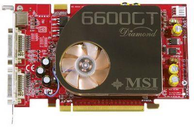 Karta graficzna MSI NX6600GT-VT2D128 Diamond
