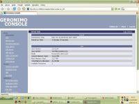 Konsola do zarządzania serwerem poprzez WWW
