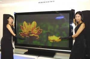 80-calowy telewizor plazmowy Samsunga (źródło: MobileMag.com)