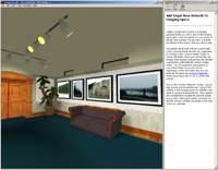 W środku wirtualnej galerii obrazów Image Armada