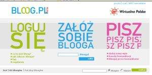 Nowy serwis WP - Bloog.pl