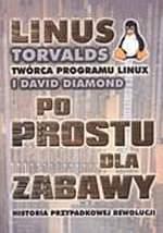 Okładka polskiego wydania książki pt. Just for fun