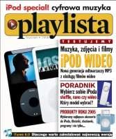 Pierwsza strona magazynu Playlista