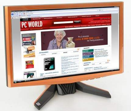 Ciekawy pod względem stylistycznym monitor Acer G24 idealnie komponuje się z komputerami Predator tego samego producenta