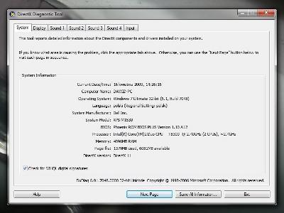 Wczesna implementacja aparatu wykoawczego DirectX 11 w Windows 7