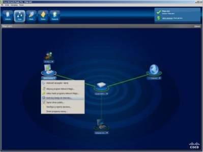Podstawowym atutem Network Magica jest przejrzysty interfejs – wszystkie urządzenia widoczne są jak na dłoni.