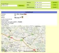 Serwis numerip.pl, znając jedynie adres IP twojego komputera, jest w stanie odgadnąć jego lokalizację. Na razie z niewielką dokładnością, ale jej poprawienie to tylko kwestia czasu.